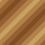 4色の茶色を使った斜線パターン