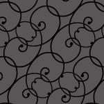 蔦のようなモチーフのシンプルなアラベスクパターン