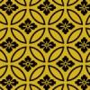 七宝と菊菱が組み合わさった文様パターン