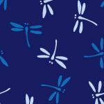 勝ち虫とも呼ばれるトンボの和柄パターン