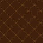 茶色ベースのシンプルなクロスパターン