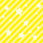 流れ星のような星と斜線のパターン