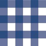 青色のギンガムチェック柄パターン