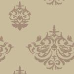 茶色ベースの西欧風パターン