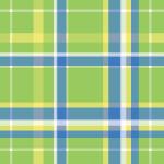 緑ベースのマドラスチェック柄パターン