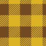 ブラウンベースのシェパードチェック柄パターン