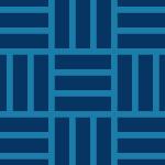 藍色の三崩し和柄パターン