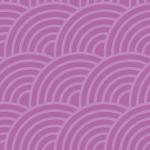 紫ベースの斜めに傾いた青海波パターン