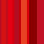 ランダムな赤いストライプ柄パターン