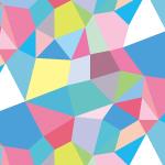 カラフルなジオメトリック・幾何学パターン
