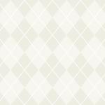 白基調のアーガイルチェック柄パターン