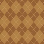 ベージュのアーガイルチェック柄パターン