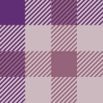 紫色基調のガンクラブチェック柄パターン