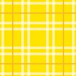 黄色のタータンチェック柄パターン