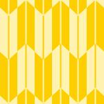 黄色の矢絣柄パターン