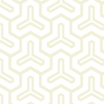 白基調の毘沙門亀甲柄パターン