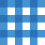 青色のギンガムチェックパターン