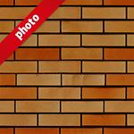 茶色のレンガ写真加工パターン