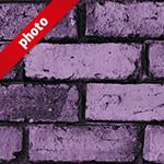 ゴツゴツした紫色のレンガブロック写真加工パターン