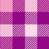 ピンクと紫系のガンクラブチェック柄パターン
