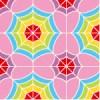 カラフルな幾何学模様パターン