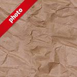 茶色のくしゃくしゃな紙のパターン