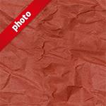 赤色のくしゃくしゃな紙の写真加工パターン