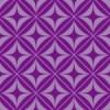 紫色の正方形とダイア形パターン