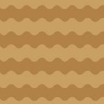 茶色のうねうねしたボーダーパターン
