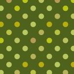 グリーン系のドット柄パターン