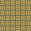 紺とオレンジ色の網代文様 和柄パターン