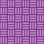 紫色の網代文様 和柄パターン