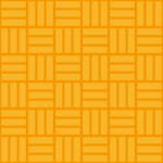 オレンジ色の網代文様 和柄パターン