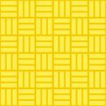 黄色の網代文様 和柄パターン