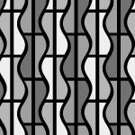 直線とうねりのパターン