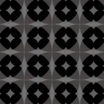 黒いクラシック風なパターン