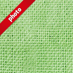 緑色のコットン生地の写真加工パターン