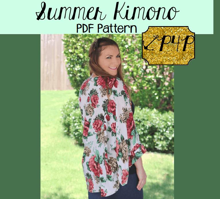 Summer Kimono - Patterns for Pirates