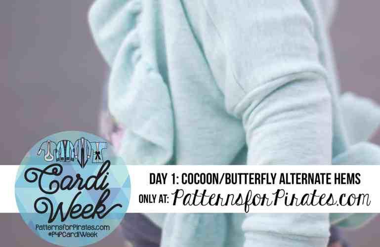 P4P Cardi Week:: Butterfly Ruffle