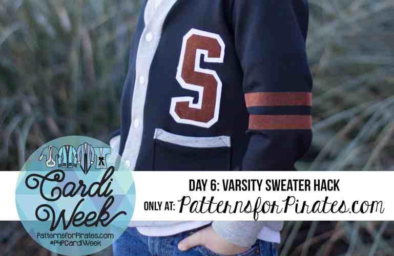 P4P Cardi Week:: Varsity Sweater Hack