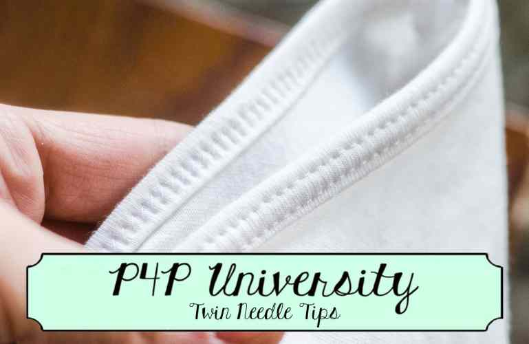 P4P University :: Twin Needle Tips