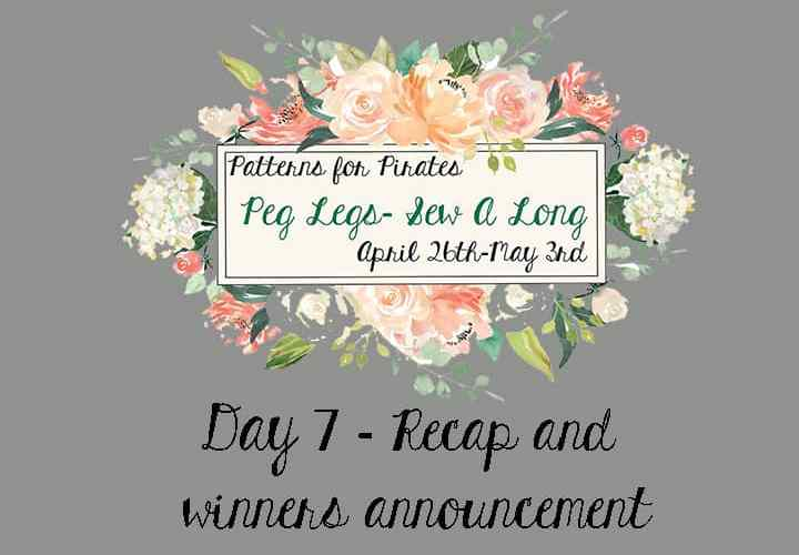 Peg Legs SAL: Day 7 – Recap and winners announcement