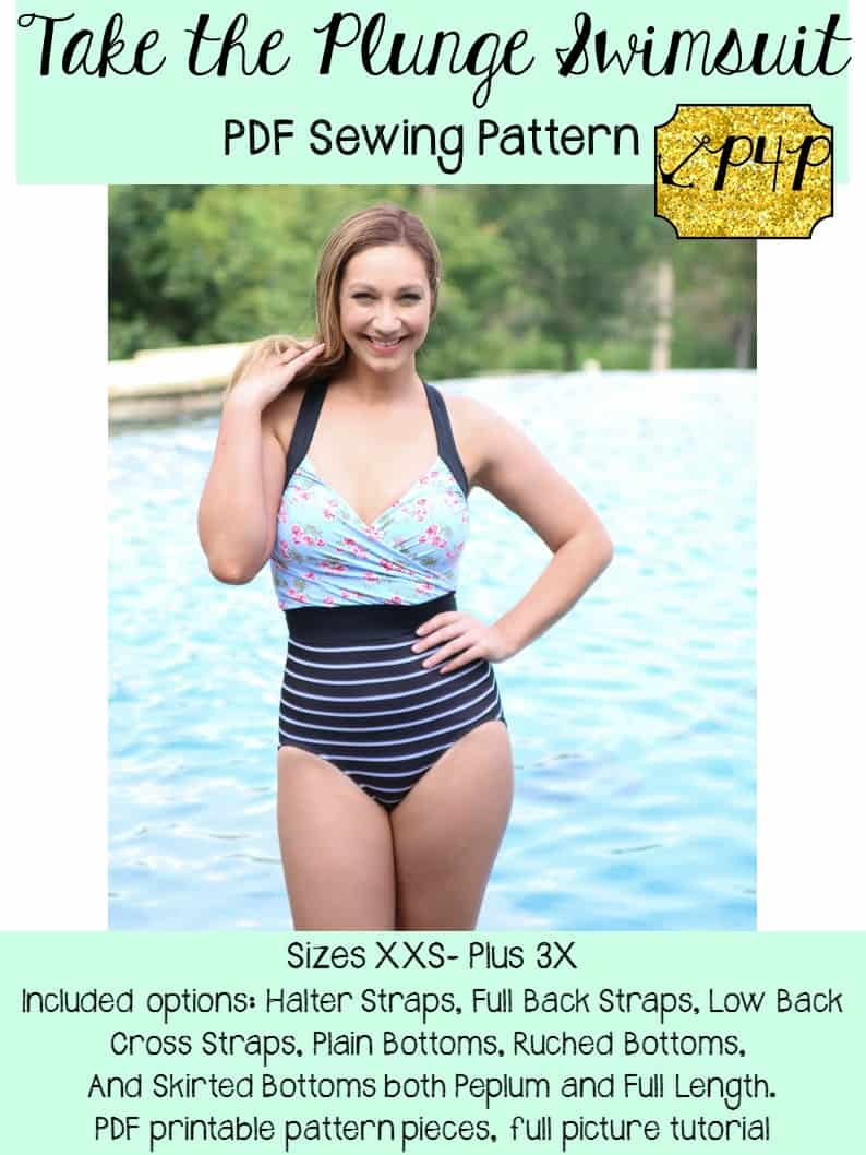 Take the Plunge Swimsuit - Patterns for Pirates