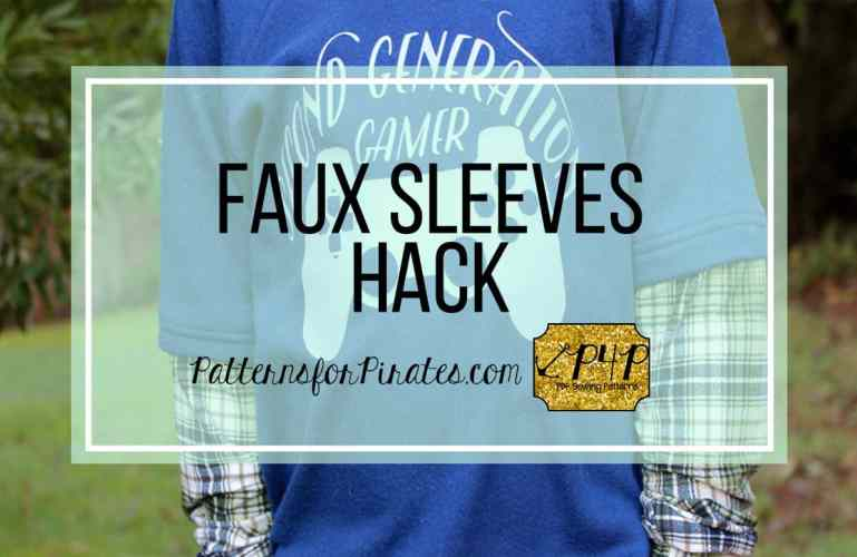 Faux Sleeve Hack