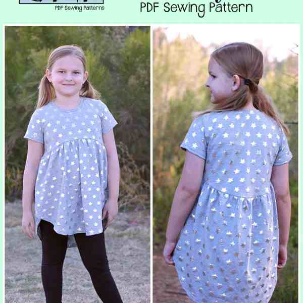 Boho Babydoll- Youth - Patterns for Pirates