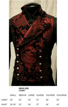Patterns Of Time Steampunk Or Regency Era Cavalier Vest In