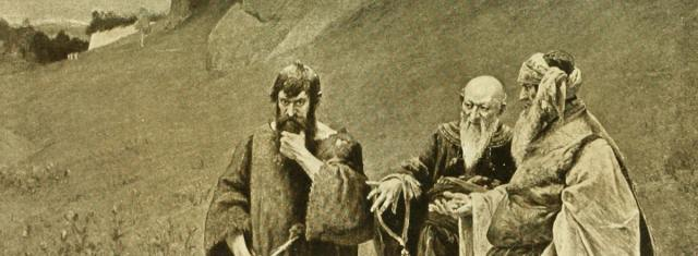 Painting of Judas Iscariot by Hermann Prell