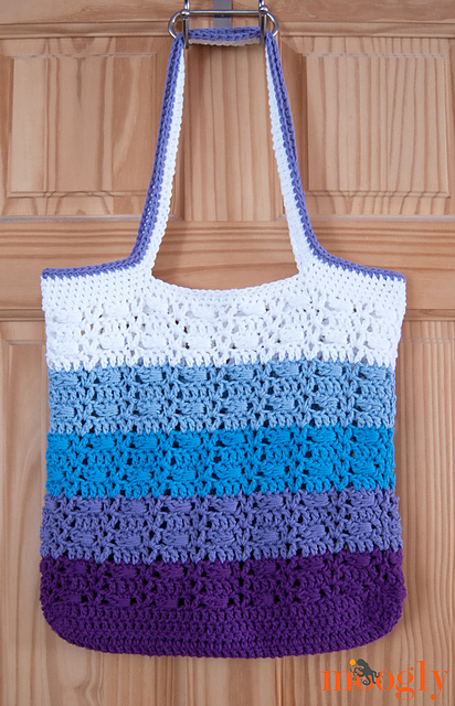 Wrapped Ombre Tote Bag Crochet Pattern