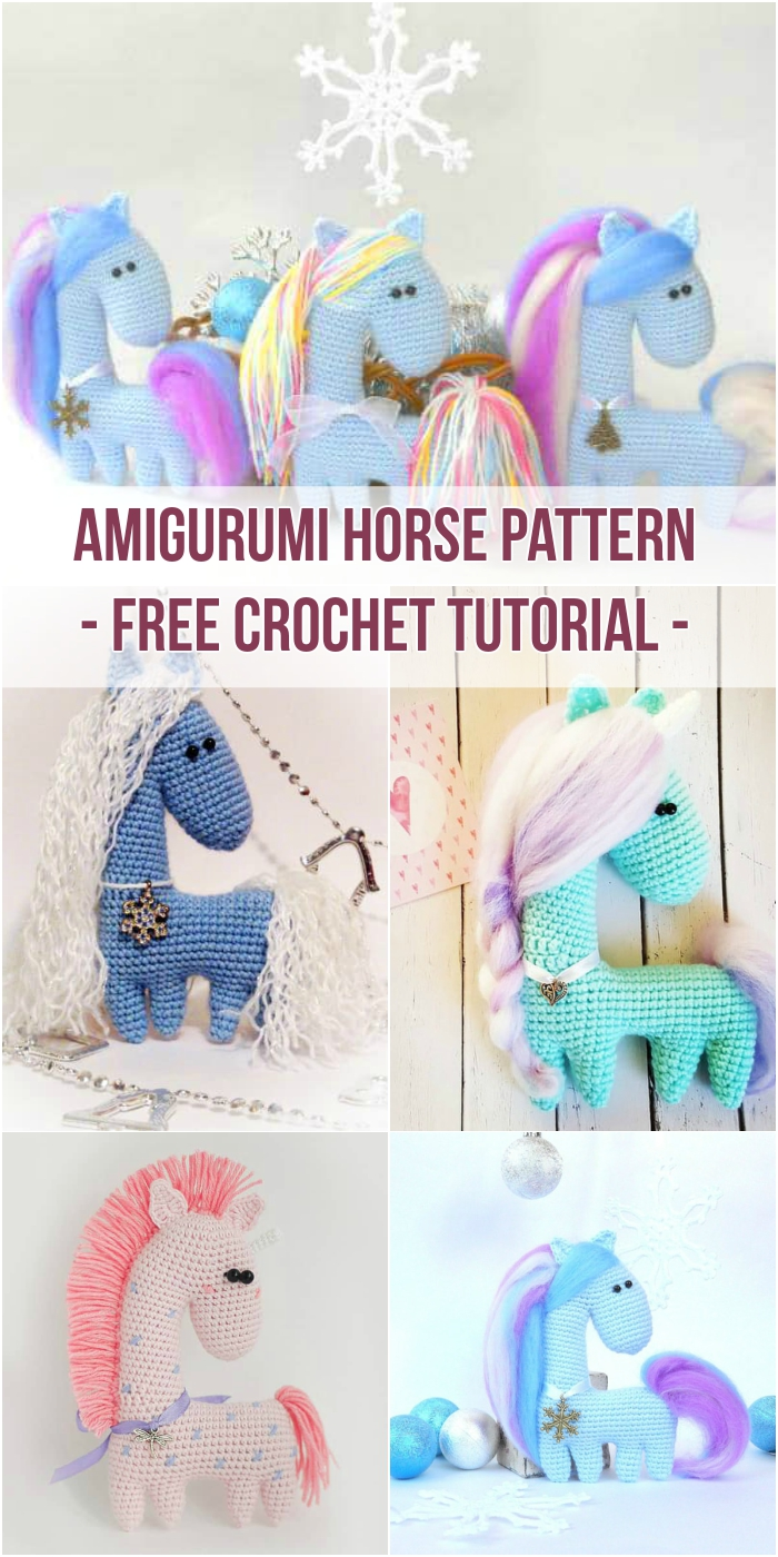Horse Amigurumi Crochet Tutorial Part 1 - YouTube | 1400x700