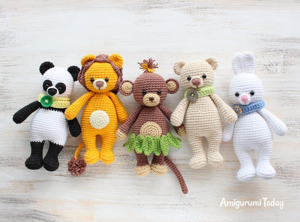 Collection to Cuddle 18 Amigurumi [Free Crochet Patterns]